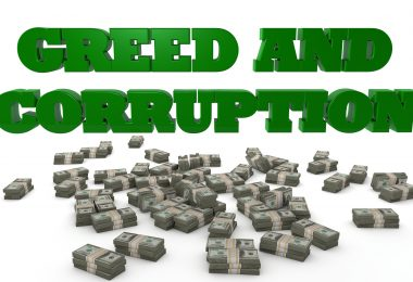 Jesus and the Money Changers' Greed and Corruption