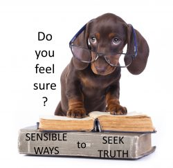 Dachsund offers sensible ways to seek truth