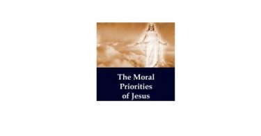 The Moral Priorities of Jesus