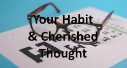 Joshua Lawrence Chamberlain: Your Habit and Cherished Thought
