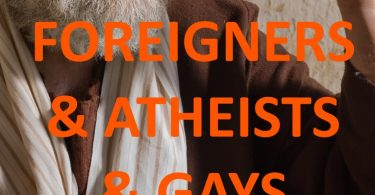 It's not Foreigners, Atheists, and Gays Who Are Instructed to Turn to God!