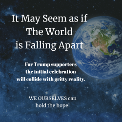 If the world is falling apart - empathy and hope