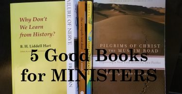 5 Very Brief Reviews of Books For Ministers Professional or Lay
